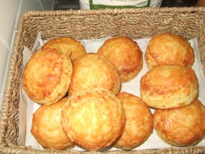 Cheese Scones from Allendale Bakery