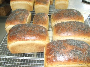 Poppy Seed White Loaves from Allendale Bakery